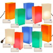 Lumabase Electric Luminaria Kit with LumaBases - Multi-colors