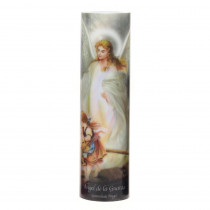 Stonebriar Collection 8 in. Guardian Angel LED Prayer Candle