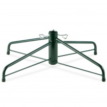 National Tree Company 28 in. Folding Metal Tree Stand for 7-1/2 ft. to 8 ft. Trees with 1.25 in. Pole