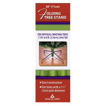 National Tree Company 28 in. Metal Folding Tree Stand