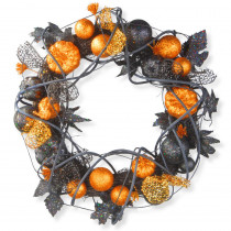 National Tree Company 20 in. Halloween Wreath