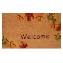 Home & More Autumn Breeze 17 in. x 29 in. Coir Door Mat