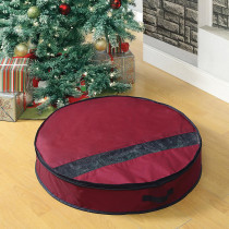 Neu Home Artificial Wreath Storage Bag for Up to 32 in.