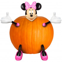 11.42 in. Pumpkin Push In Minnie Mouse Kit