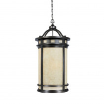 Designers Fountain Mesa Collection 4-Light Oil Rubbed Bronze Outdoor Hanging Foyer Light