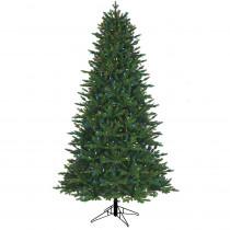 7.5 ft. 1-Plug Aspen fir Artificial Christmas Tree with RGB Lights
