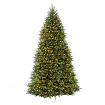 12 ft. Dunhill Fir Artificial Christmas Tree with 1500 Clear Lights