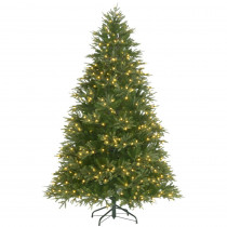 7.5 ft. Pre-Lit Majestic Fir Artificial Christmas Tree with Color Changing Lights