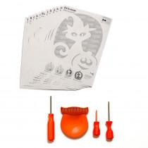 Jumbo Tool Carving Kit with Easy Grip Scoop