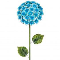 Regal 49 in. Hydrangea Flower Stake Blue