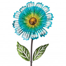 Regal 53 in. Cosmo Garden Flower Stake Blue