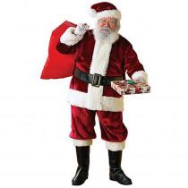 Rubie's Costumes Extra Large Crimson Regency Santa Suit Costume