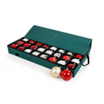 Santa's Bags Green Polyester Ornament Saver Tray