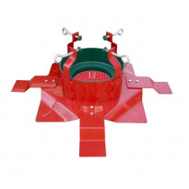 Santa's Solution Steel Extreme Tree Stand with Turn Straight Centering System for Trees Up to 15 ft.