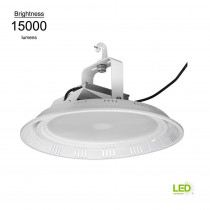ETi 18 in. Round White 400w HID Equivalent 15000 Lumen Integrated LED High Bay (Motion Sensor Compatible) (28 Pack)