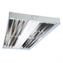 Metalux 75-Watt White Enamel Integrated LED High Bay 4000K CCT with 0-Volt to 10-Volt Dimming Driver