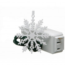 Xodus Innovations Tree Light On/Off Touch Ornament Snowflake